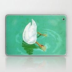 Duck diving Laptop & iPad Skin