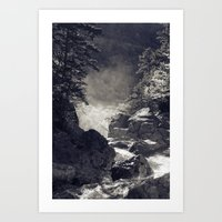 Glen Ellis Falls Art Print