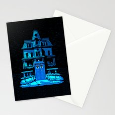 Tardis Horror Place Stationery Cards