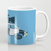 The Blues Brothers' Van Mug