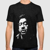 Serge Gainsbourg Mens Fitted Tee Tri-Black SMALL