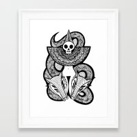 Coroner's Joke no.2 Framed Art Print