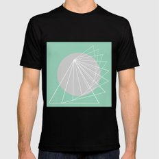 Everything belongs to geometry #5 Mens Fitted Tee Black SMALL