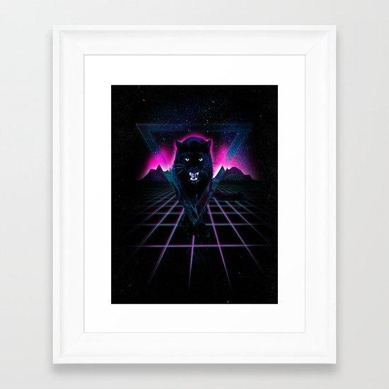 Jaguar Poster Framed Art Print