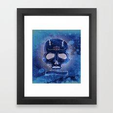 Ancient Skull Framed Art Print