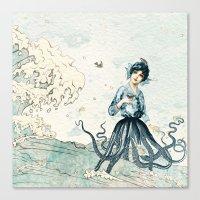 Octopus Fairy Canvas Print