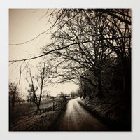 Canvas Print featuring Show me the way to go home by Love_in_her_eye