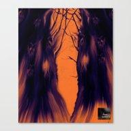 Dark Space [Digital Illu… Canvas Print