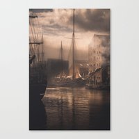 Ships Of The Past No.2 Canvas Print