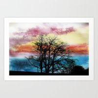 Colours Of The Sky Art Print