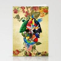 Avian Skull Stationery Cards