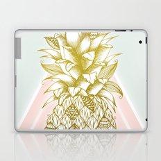 Golden Pineapple Laptop & iPad Skin
