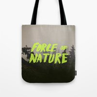 Force of Nature x Cloud Forest Tote Bag