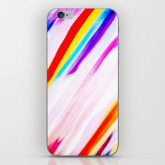 Rainbow for cover iPhone & iPod Skin