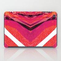 Pink Warp II iPad Case