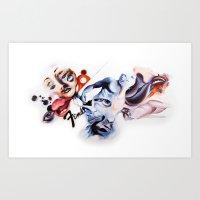P.O.A.M Fender Art Print