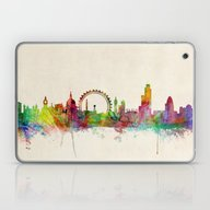 London Skyline Watercolo… Laptop & iPad Skin