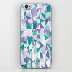 #103. JENNI (Abstract Stained Glass) iPhone & iPod Skin