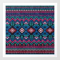 Aztec Forever Art Print