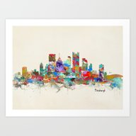 Pittsburgh Pennsylvania … Art Print