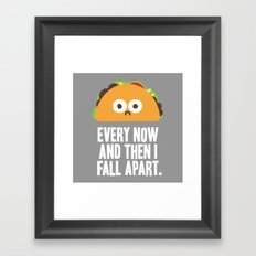 Taco Eclipse of the Heart Framed Art Print
