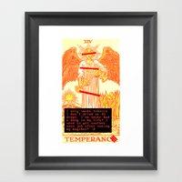 Temperance Bynes Framed Art Print