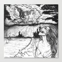 Apocalypse Canvas Print