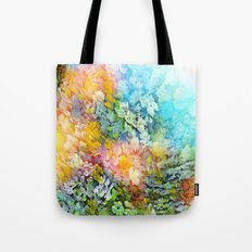sunlight on the sea Tote Bag