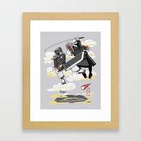Final Samurai VII Framed Art Print