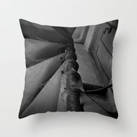 Old Factory 4 Throw Pillow
