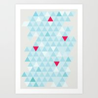 Shape series 4 Art Print