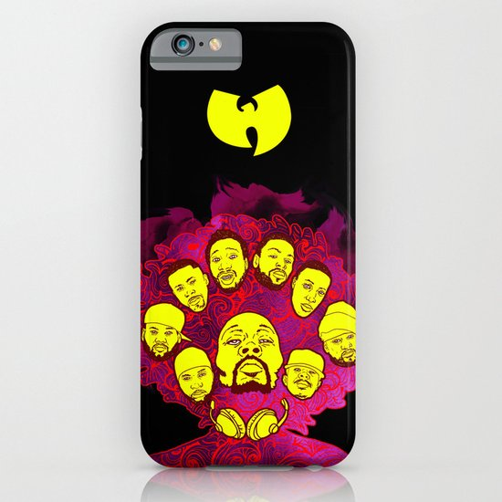 Wu-Tang Purple Haze iPhone & iPod Case