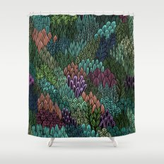 July Leaves Shower Curtain