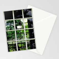 Square Windows Stationery Cards