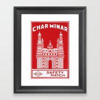 Wimco Match Framed Art Print