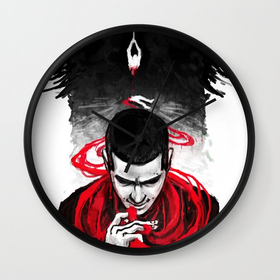 TW: First Blood Wall Clock