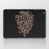 Please Don't iPad Case