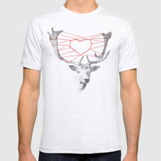 How Are You Dearie Mens Fitted Tee Ash Grey SMALL