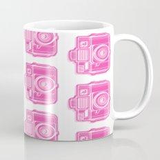 I Still Shoot Film Holga Logo - Pink Mug