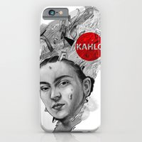 iPhone & iPod Case featuring Kahlo by RamonN90