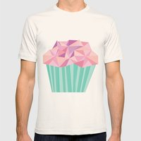Cupcake Mens Fitted Tee Natural SMALL