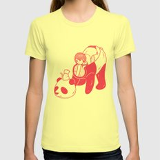 Mew Womens Fitted Tee Lemon SMALL