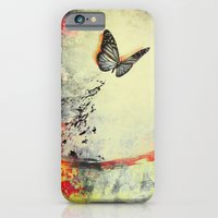iPhone & iPod Case featuring Waterfly III by SensualPatterns