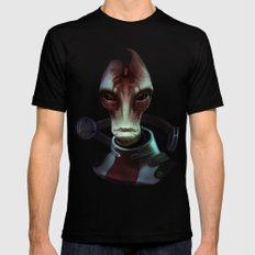 Mass Effect: Mordin Solus Mens Fitted Tee Black SMALL