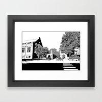 Bloomington III Framed Art Print