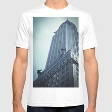 Who needs a hero? Mens Fitted Tee White SMALL