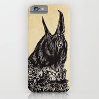 iPhone & iPod Case featuring CROW-ded by Kerby Rosanes