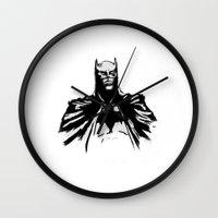 The Dark Bruce Wall Clock