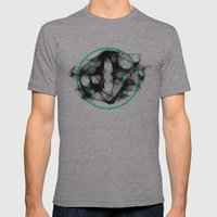 Shower Drain Mens Fitted Tee Athletic Grey SMALL