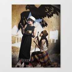 The Feather of Finest the Falcon Canvas Print